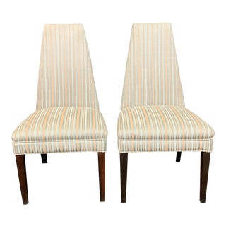 1950s Vintage Dining Chairs - a Pair For Sale