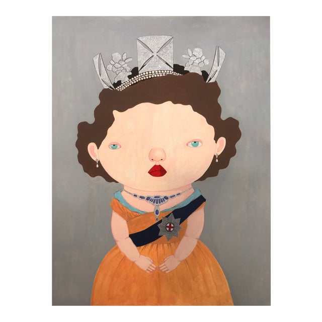 """""""The Last Reigning Queen """" Print by Charles Benton For Sale"""