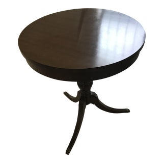 Vintage Mersman Round Occasional Table