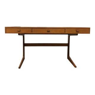 Mid-Century Walnut Georg Peterson Desk For Sale