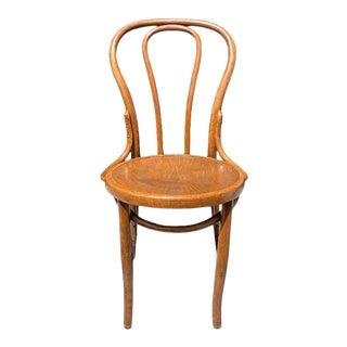 Jacob & Josef Kohn #7 Bent Wood Side Chair - 1800s Austria For Sale