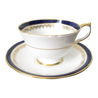 Vintage Aynsley Tea Cup & Saucer For Sale