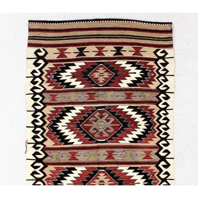 "Boho Chic Vintage Turkish Kilim Rug - 3'5"" x 5' For Sale - Image 3 of 6"