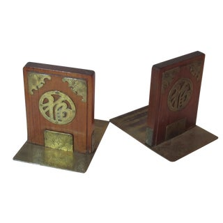 1940's Asian Inspired Bookends - Pair For Sale