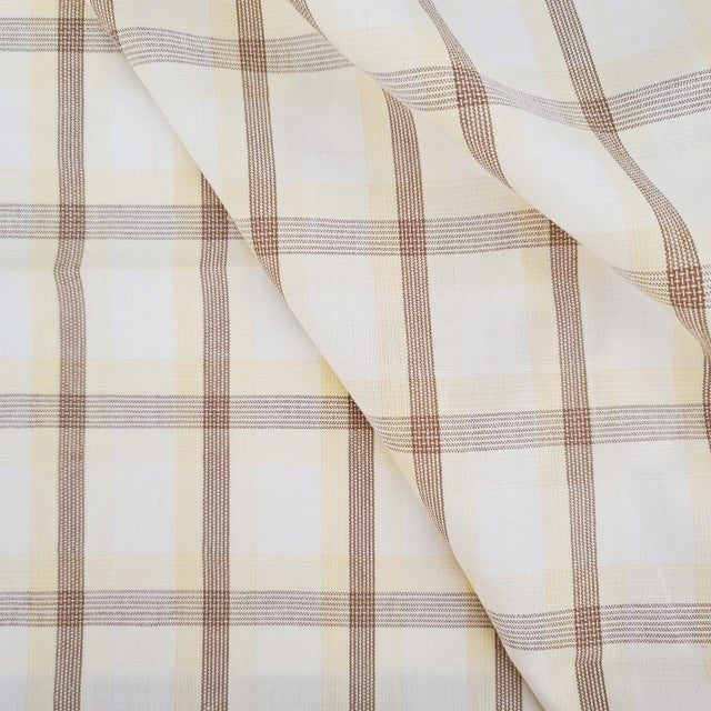 This listing is for a beautiful Holland & Sherry designer fabric. Manufacturer: Holland & Sherry Pattern: Corfu Plaid...