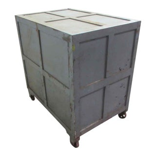 Industrial Gray Steel Safe Box For Sale