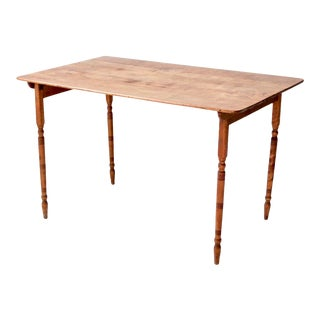 Antique Folding Table For Sale