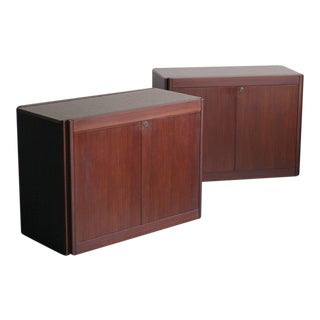 Set of Two Cabinets by Angelo Mangiarotti for Molteni For Sale