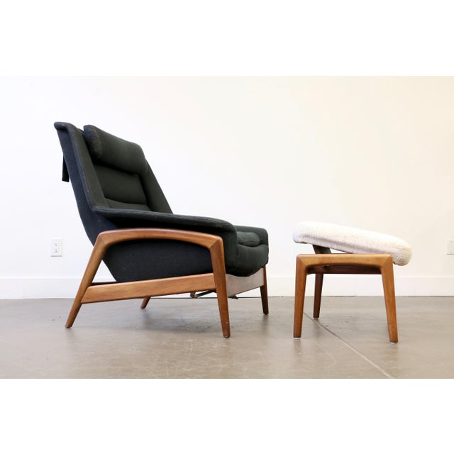 Folke Ohlsson for Dux Lounge Chair & Ottoman For Sale - Image 13 of 13