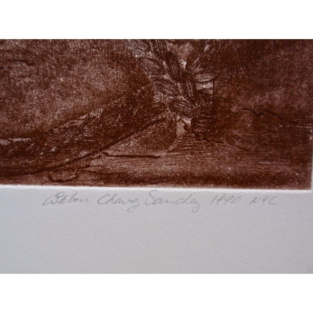 """Oakland Ballet-Les Noces"" Etching For Sale In New York - Image 6 of 8"