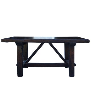 18th Century Tuscan Walnut Kitchen Table For Sale