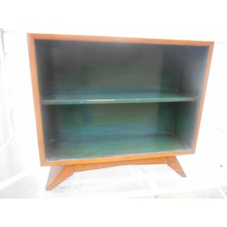1930's Art Deco Petite Sliding Glass Door Bookcase Preview