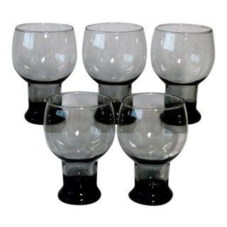 Vintage Beer Glass - Set of 5