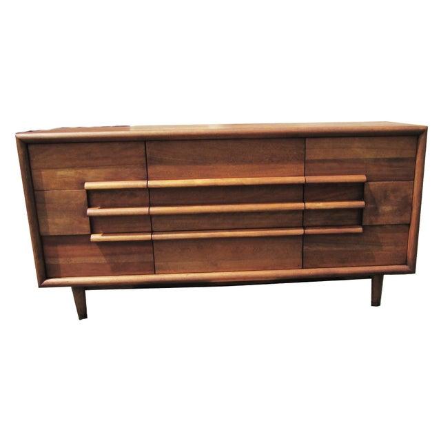 Furniture Guild of California Walnut Dresser - Image 2 of 8