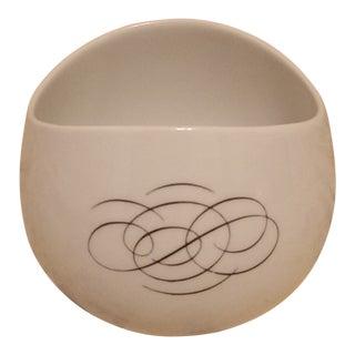 Rosenthal Raymond Lowey Mid-Century Modern Script Gravy Bowl For Sale