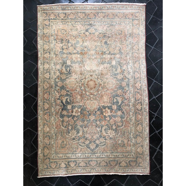 19th Century Vintage Traditional Rug For Sale - Image 5 of 5