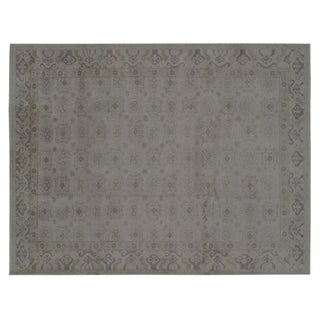 Stark Studio Rugs Traditional Oriental Indian Wool Rug - 9' X 12' For Sale