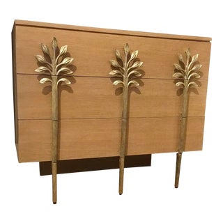 Ambella Home Modern Wood and Metal Sapling Chest of Drawers For Sale