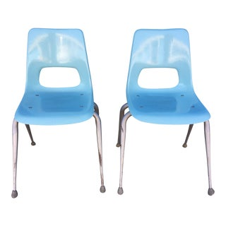 Herman Miller for Brunswick Shell Chairs - A Pair