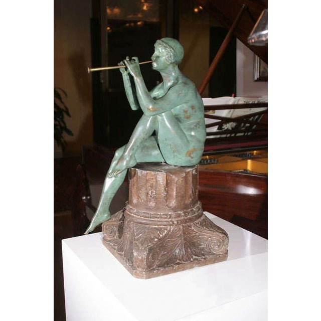 Art Deco Bronze Sculpture by Maurice Guiraud Riviere For Sale - Image 10 of 10