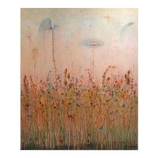 """Weeds & Reeds"" Original Artwork by Bruce Rubenstein For Sale"