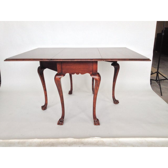 Chippendale Claw Amp Ball Drop Leaf Dining Table Chairish