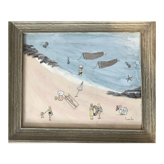 Boat House Beach by Lauren Jane Gift For Sale