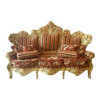 Italian Baroque Style Sofa
