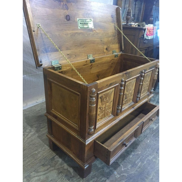 Heywood-Wakefield Vintage Limited Ed. Cedar Chest For Sale - Image 7 of 9