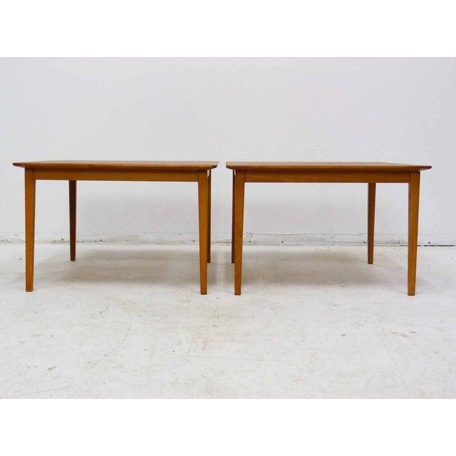 Tingstroms of Sweden Teak Side Tables - A Pair For Sale - Image 5 of 8