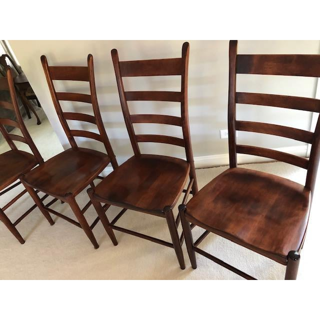 Nichols & Stone Nichols and Stone Side Chairs- Set of 4 For Sale - Image 4 of 11