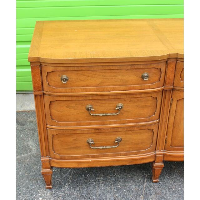 Metal Mid-Century Walnut Dresser For Sale - Image 7 of 9