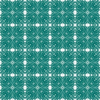 French Lace 'Emerald' Standard Wallpaper Roll For Sale