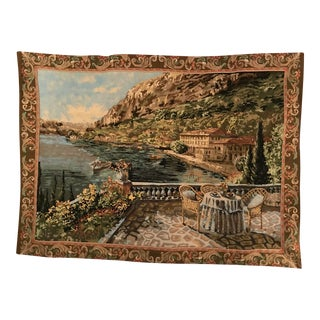 Gorgeous Large , Vintage Traditional Woven Tapestry For Sale
