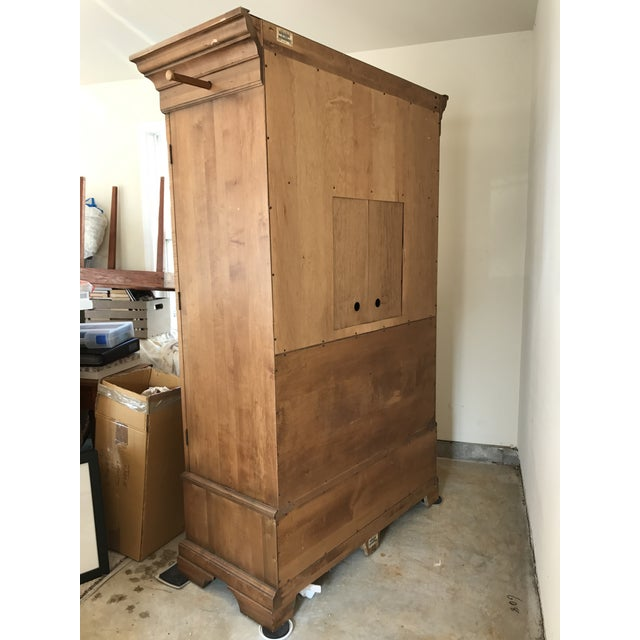 Ethan Allen New Country Armoire For Sale - Image 10 of 11
