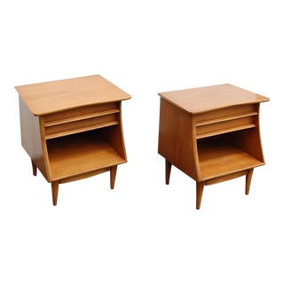 1950s Mid-Century Modern Kent Coffey Nightstands - a Pair For Sale
