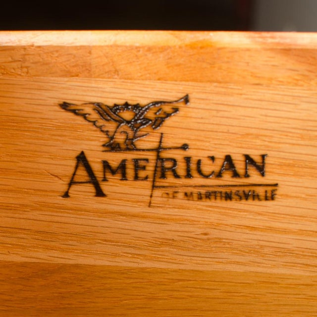 1960s Mid-Century Modern American of Martinsville Walnut Chest For Sale - Image 10 of 12