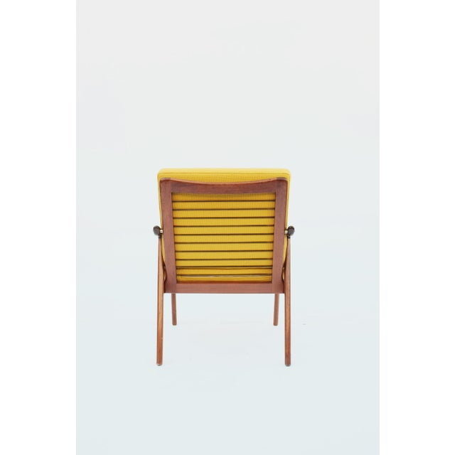 Danish Modern 1950s Danish Modern Fredrik A. Keyser for Vantne Lenestolfabrikk Lounge Chair For Sale - Image 3 of 11