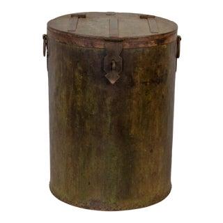 Vintage Indian Tanki Grain Storage Bin For Sale