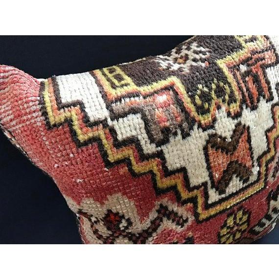 Textile Decorative Vintage Antique Pillow Cover For Sale - Image 7 of 8