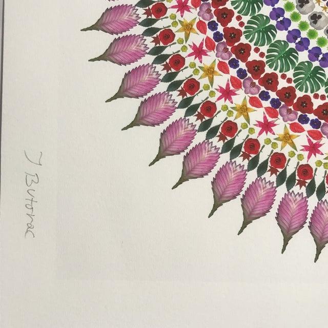 """Flower Mandala"" Print For Sale - Image 9 of 9"