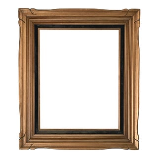 Vintage Gold Carved Frame For Sale
