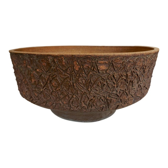Ceramic Planter by Raul Coronel For Sale
