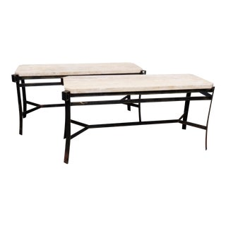 Jean Michel Frank Console Tables - A Pair