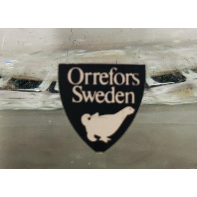 Orrefors Crystal Ice Bucket For Sale - Image 5 of 7