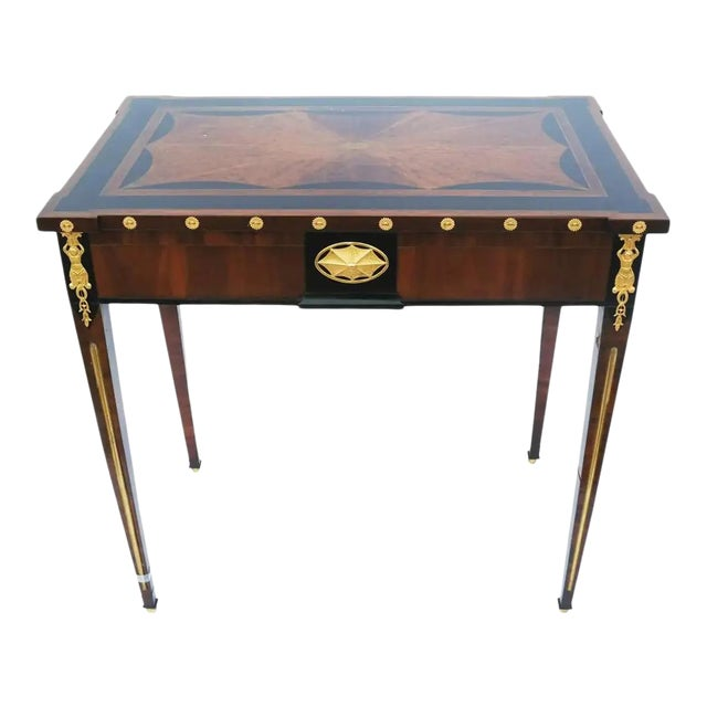 Early 19th Century Russian Neoclassical Table With Planter Insert For Sale