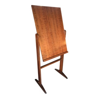 1960s Danish Modern Teak Artist's Easel For Sale