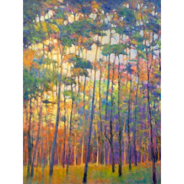 Ken Elliott, Glittering Forest, 2017 For Sale - Image 9 of 9