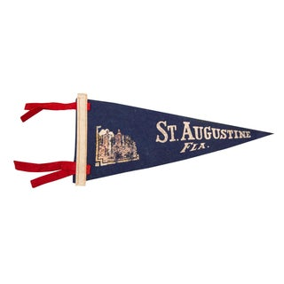 St. Augustine, Florida Felt Flag For Sale