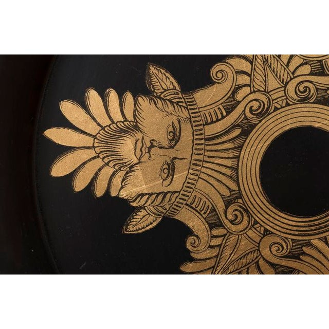1950s Piero Fornasetti Three Kings Serving Tray For Sale In Santa Fe - Image 6 of 8